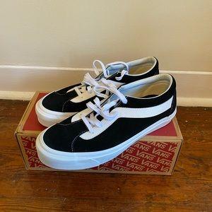 Vans Black  Suede Bold Ni Shoes